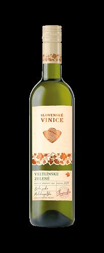 Biele víno Slovenské Vinice Veltlínske zelené 2019,  0,75l