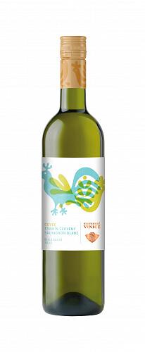 Slovenské Vinice Folk Cuvée 2020, biele víno suché 0,75l