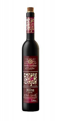 Exclusive Málna pálinka 42% 0,35l, Malinovica