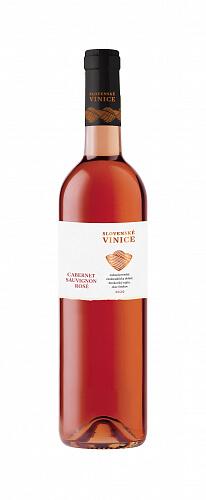 Slovenské Vinice Cabernet sauvignon rosé 2020, ružové víno polosuché 0,75l