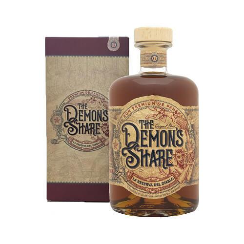 The Demon's Share Rum 40% 0,7 l Tmavý rum darčekové balenie