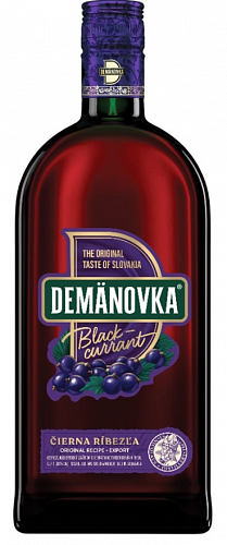 Demänovka Likér Blackcurrant 30% 0,7l