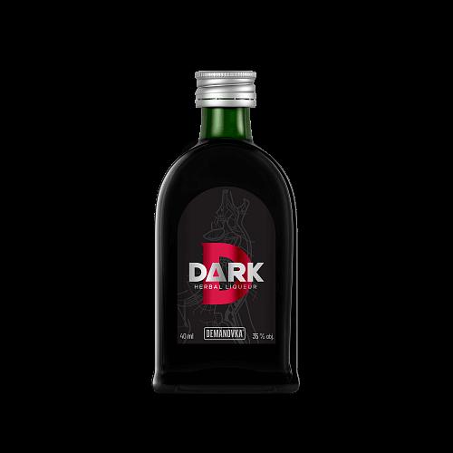 DARK bylinný likér 35% 0,04l