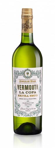 La Copa Vermouth blanco biele Extra Seco ESP 0,75l