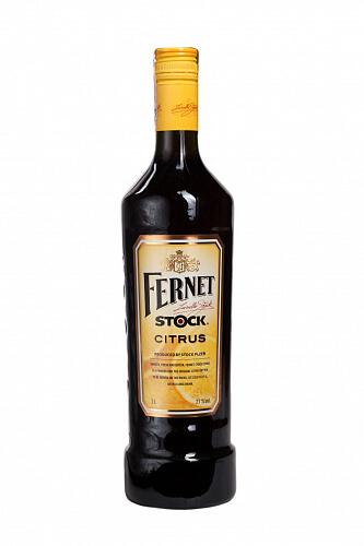 FERNET Stock Citrus likér 27% 1l