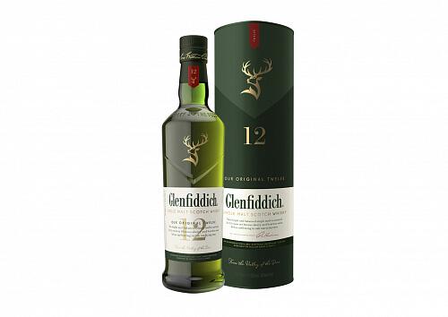 Glenfiddich 12r. 40% 0,7l Škótska whisky