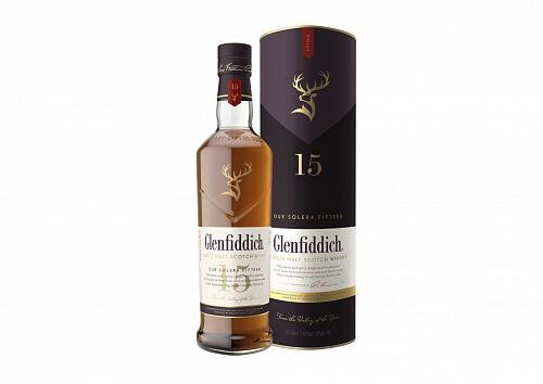 Glenfiddich 15r. 40% 0,7l Škótska whisky