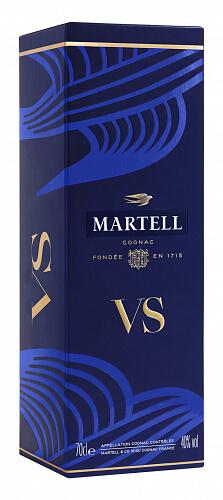 Martell VS Cognac 40% 0,7l darčekové balenie