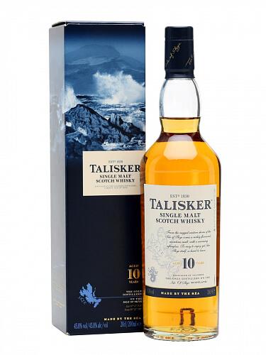 Talisker Single Malt whisky 10r. 45.8% 0,7l