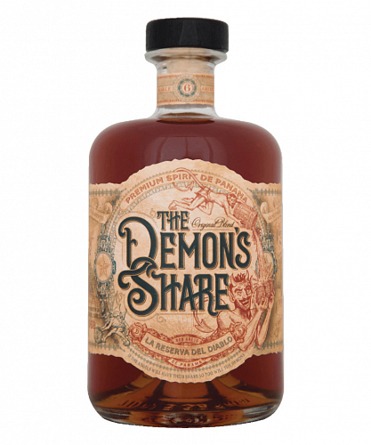 The Demon's Share Rum 40% 0,7 l Tmavý rum