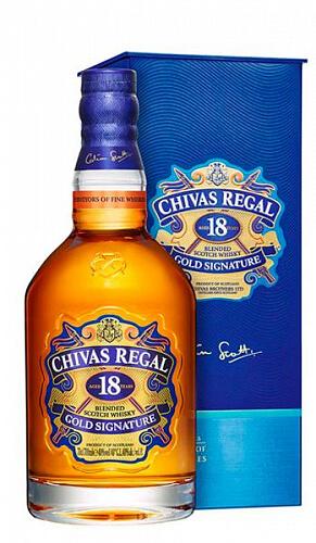 Chivas Regal 18y 40% 0,7l Škótska whisky