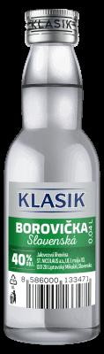 KLASIK Borovička slovenská 40% 0,04l
