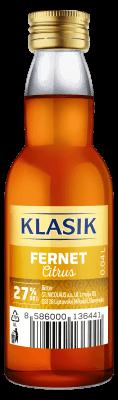 KLASIK Fernet Citrus likér 27% 0,04l