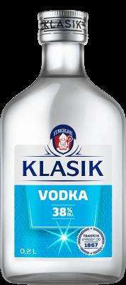 KLASIK Vodka 38% 0,2l