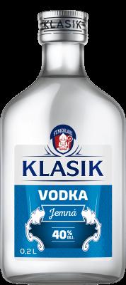 KLASIK Vodka Jemná 40% 0,2l