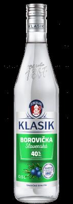 KLASIK Borovička slovenská 40% 0,5l