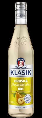 KLASIK Kopaničiarska Hruška 40% 0,5l