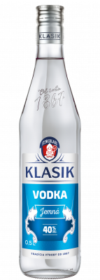 KLASIK Vodka Jemná 40% 0,5l
