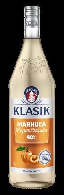 KLASIK Kopaničiarska Marhuľa 40 % 1l