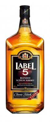 Label 5 Scotch Whisky 40% 1l