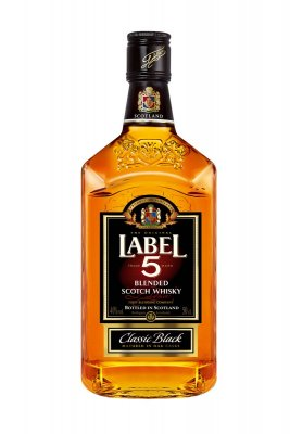 Label 5 Scotch Whisky 40% 0,5l