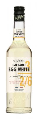 GIFFARD Egg White - sirup vaječný bielok 0,7l