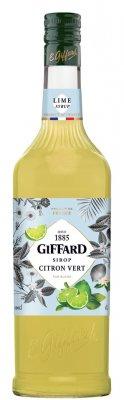 GIFFARD Lime - limetkový sirup 1l