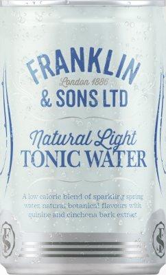 Franklin&Sons Ľahký Tonik, plech 0,15l