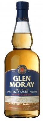 GLEN MORAY Classic Chardonnay 10 YO Scotch Whisky 40% 0,7l