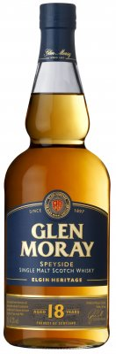 GLEN MORAY Single Malt 18YO 47,2% 0,7l