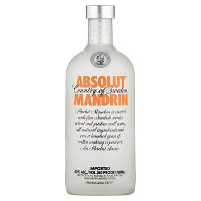 ABSOLUT vodka mandarin 40% 0,7L