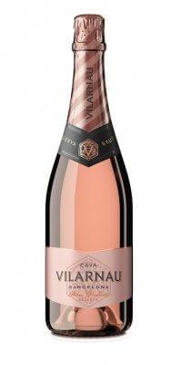 Vilarnau Cava Brut Reserva Rose Organic 12% 0,75l ESP - ružové šumivé víno