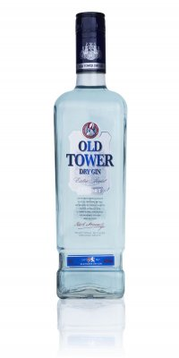 Old Tower Dry Gin 37,5% 0,7l