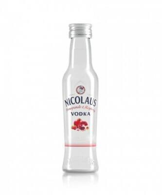 Nicolaus Pomegranate & Raspberry Vodka 38% 0,04l