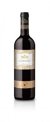 Slovenské Vinice Alibernet NZ červené víno 2016 0,75l