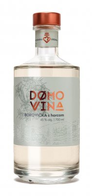 DOMOVINA Borovička s horcom 45% 0,7l