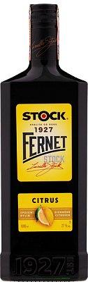 FERNET Stock Citrus 27% 1L