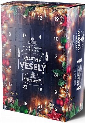 KLASIK Adventný kalendár 24 x 0,04l