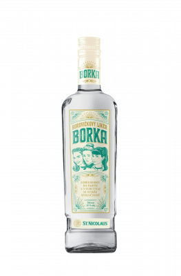 Borovičkový likér BORKA 35% 0.7 l