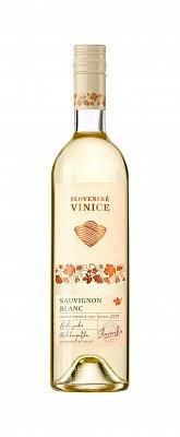 Slovenské Vinice Sauvignon Blanc 2019, biele suché 0,75l