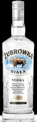 Zubrowka Biala vodka 37,5% 0,7l