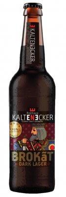 Kaltenecker Brokát Dark pivo 13° sklo 0,33l