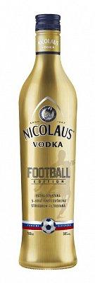 Nicolaus Vodka Extra Jemná 38% 0,7l Football Edition