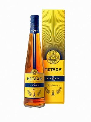 Metaxa 5* brandy 38 % 0,7l