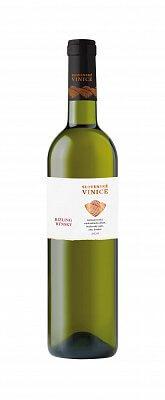 Slovenské Vinice Rizling rýnsky 2020, biele víno suché 0,75l