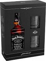 Jack Daniel´s + 2 poháre 40% 0,7 L