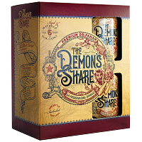 The Demon's Share Rum 40% 0,7 l Tmavý rum (balenie s pohármi)
