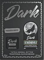 Demänovka Dark 53% 0,7l darčekové balenie s ploskačkou