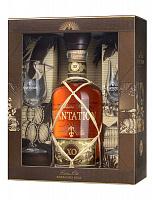Plantation XO 20th Anniversary 40% 0,7l  Tmavý rum, Darčekové balenie s poh.