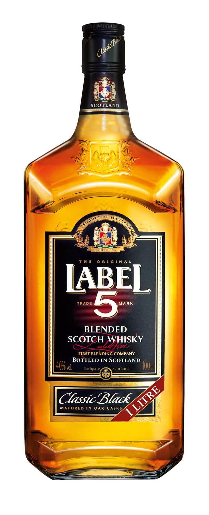 Label 5 Scotch Whisky 40% 1l